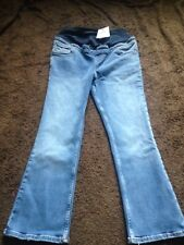 BNWT Ladies Size 8, Blue Skinny Over Bump Maternity Jeans