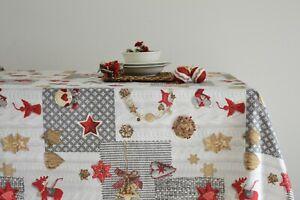 NEVADA Tovaglia Natale Natalizia - varie misure - Cieffepi Home Collection