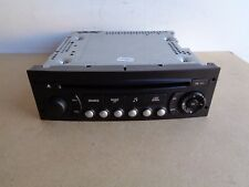 Peugeot 207cc Convertible RD4 Radio Stereo CD MP3 Player 2006-14 FREE VIN CODING