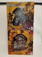 G.E.M. series remix NARUTO Fujin Raijin Uzumaki Naruto Uchiha Sasuke MEGAHOUSE