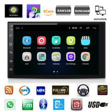 "7"" 2 Din Android 8.1 Auto Estéreo Radio Gps Wifi 3G/4G BT DAB Espejo enlace OBD"