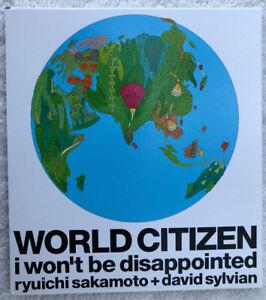 David Sylvian / Sakamoto - World Citizen - Japanese CD EP - WPCL10043 - 2003