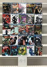 Batman  Rebirth Dc 25 Lot Comic Book Comics Set Run Collection Box