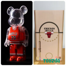Medicom Be@rbrick NBA x Milk Magazine 400/% Warriors /& Cavaliers Bearbrick 2pcs