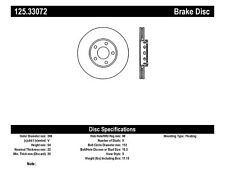 High Carbon Rotor-Preferred fits 2002-2004 Volkswagen Passat  CENTRIC PARTS