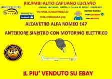 Alzacristalli Alfa 147 Romeo Alzavetro Elettrico Anteriore Sinistro SX MOTORINO