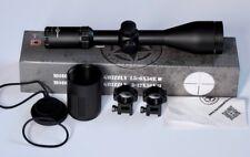 Vector Optics Grizzly 3-12x56E Riflescope Central Red Dot Illuminates.