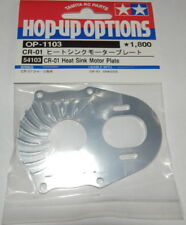 Tamiya CR01 Heat Sink Motor Plate NEW 54104 58405 58414 58429 58436