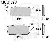 TRW Lucas balatas mcb598sv delantero honda cbf 600 s