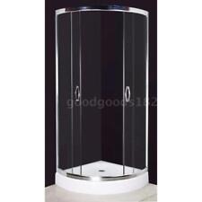 Curved Bathroom Shower Glass Screen Cabin Enclosure Cubicle Quadrant Base T1G8
