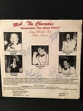RARE-Classic Memories / The Charades - Multiple Autographs by all 5 members