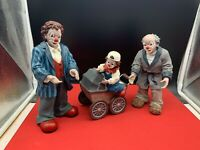 Original Gilde Clown Drei Millennis 20,5 cm. Top Zustand