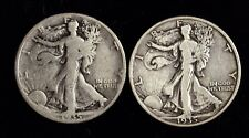 1935 P & D Walking Liberty Silver Half Dollar ☆☆ Circulated ☆☆