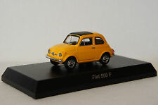 KYOSHO~ FIAT 500F (Y) ~ 1/64 Scale Minicar Collection (Free Shipping)