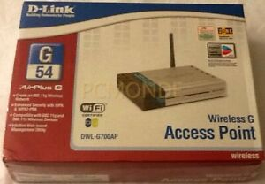 D-Link Wireless G AirPlus Access Point DWL-G700AP