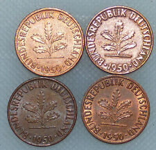 1 Pfennig 1950 J In 1 Pfennigmünzen Der Brd Ab 1950 Günstig Kaufen