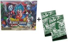 DRAGON BALL SUPER TCG SERIES 3 CROSS WORLDS BOOSTER BOX +2 DASH PACKS!!