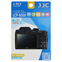 JJC 2pcs LCD Guard Film Screen Protector Display for Nikon Coolpix B500