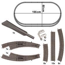 NUOVO Fleischmann N 9403 unità di isolamento rotaie connettore 1 pin 12 pezzi in bustina