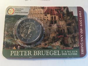 2 EURO BELGIQUE 2019 450 ANS MORT PIETER BRUEGEL