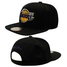 Mitchell & Ness LA Laker Adjustable Snapback Adults Cap Hat Black NL99Z LA