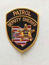 Ohio Deputy Sheriff Patrol Police Patch