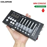 54CH DMX Console 12V DC Powered With 9 Programs For DMX512 Stage Light