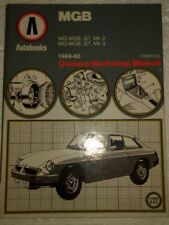 Autobooks MGB MG 1969-80 Manual.
