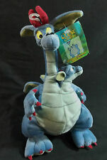 Devon Cornwall 2 Headed Dragon Quest for Camelot Bean Bag Plush Warner Bros