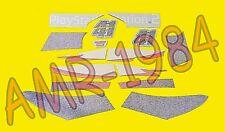 SERIE ADESIVI DECALCO CARROZZERIA POST SR 50 DITECH + CARB HAGA 2002  AP8267702