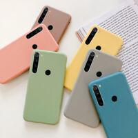 For Xiaomi Redmi Note 8 7 6 5 Pro 8A Mi 9 8 A2 A3 Soft Silicone Matte Case Cover