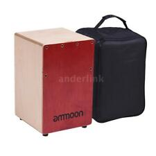 Drum Ammoon Cajon Box Drum Companion Accessory 4-bell Jingle Castanet For Hand Percussion Instruments Rich And Magnificent Musical Instruments
