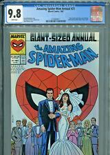 The Amazing Spider-Man Annual #21 (Marvel 1987) CGC Certified 9.8