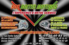 BOITE DE VITESSES MANUELLE RENAULT  MASTER 2.5 DCI 120 CV  PF6 S 005 / G9U 650