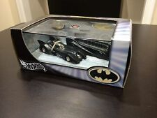 BATMAN HOT WHEELS LIMITED EDITION ADULT COLLECTOR 1:64 BATMOBILE SET 2003 MATTEL