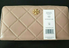 Tory Burch Devon Sand Georgia Zip CONTINENTAL Wallet. 8b25
