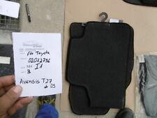 Toyota Avensis T27 ab '09 Set Fußmatten anthrazit Passform Automatten