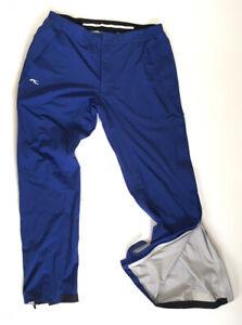 Kjus Mens Ski Pants Blue Size 52/L - Uninsulated