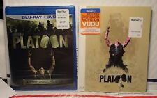 New Platoon On Blu-Ray+Dvd! W-Rare Long Sold Out Walmart Slipcover! Sealed