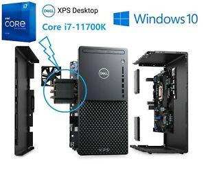 Latest Dell XPS 8940 11th i7-11700K 16GB RAM 1TB SSD 2TB HDD iGPU Wifi 6 BT 5.1