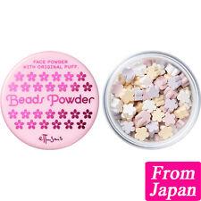 Ettusais Sakura cherry beads powder 15g (With a private puff) Face powder Japan