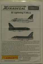 XTradecal 1/48 x48099 English Electric Lightning F Mk.6
