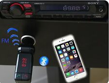 3.5mm Car Radio Fm Transmitter adapter For Mp3 Mp4 iPhone 6 5S 5C 6S plus iPod