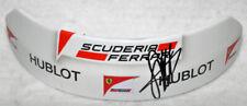 Sebastian Vettel Signed Replica 2017 Ferrari Top Aero Visor Helmet Part - Proof