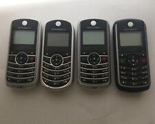 LOTTO STOCK 4 cellulari  MOTOROLA c139 c121 c118
