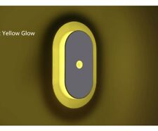 Motion Sensor LED Night Light Stick-On Home Stairs Bedroom Kitchen-Yellow Light
