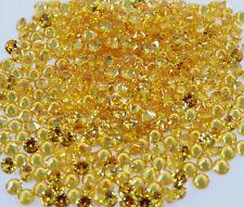 150.00 Ct  Natural Round Cut Yellow Sapphire 6 MM Gemstone GGL Certified