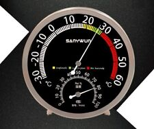 Sanywun TH-302 Stainless Steel 201 Temperature And Humidity Hygrometer Gauge