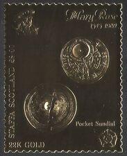 Staffa (L) Mary Rose/Barco De Vela/Reloj De Sol/tiempo/Relojes/Reloj De Oro 1 V (n35041)