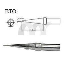 FOR Weller Soldering Station Solder Iron Tip ETO 0.8MM ET0 0.8B NEW